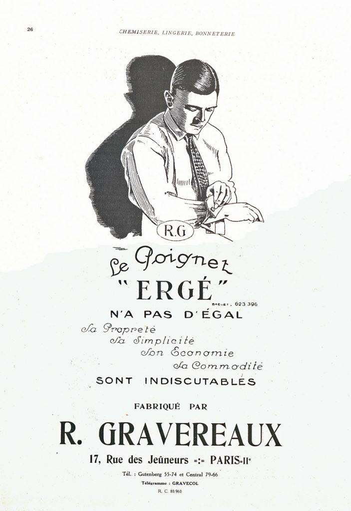 1928 Ergé - Publicité_wp