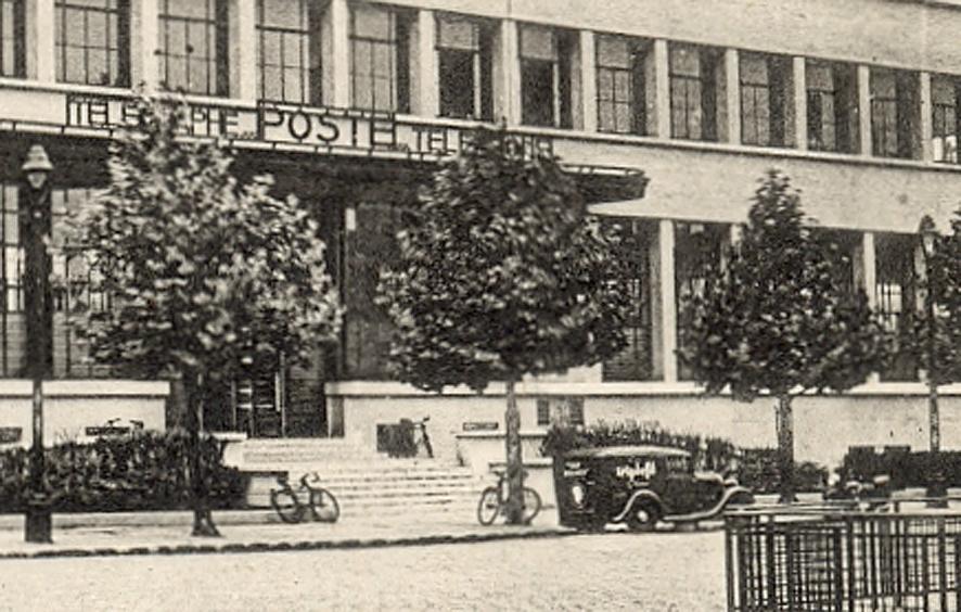 BOULOGNE-SUR-SEINE - La Poste (détail)_wp