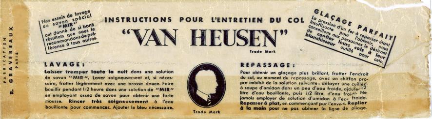 Van Heusen Col semi-dur - Pochette (verso) 1-2_wp
