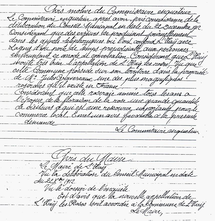 1913-04 Ville de L'Hay - Rapport du commissaire-enquêteur_wp