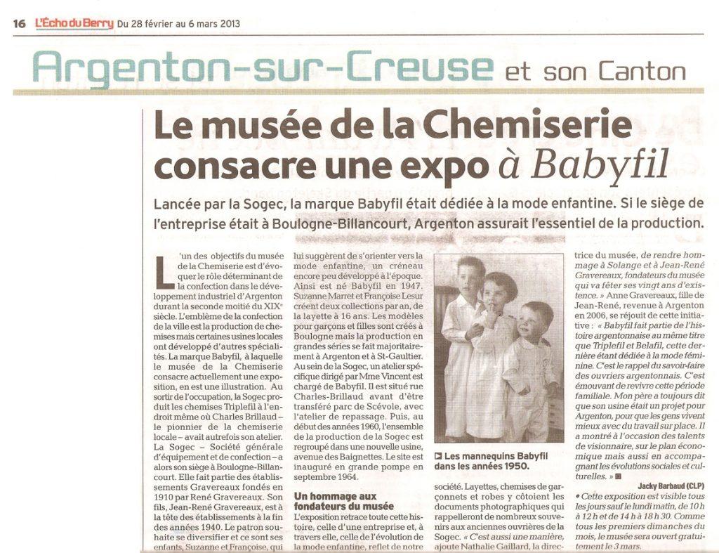 2013-02-28 L'Écho du Berry - Expo Babyfil_wp