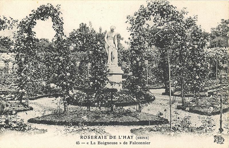 141-3© 45 ROSERAIE DE L'HAY-LES-ROSES (SEINE) - La Baigneuse de Falconnier_wp